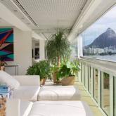 Um apartamento deslumbrante na Lagoa