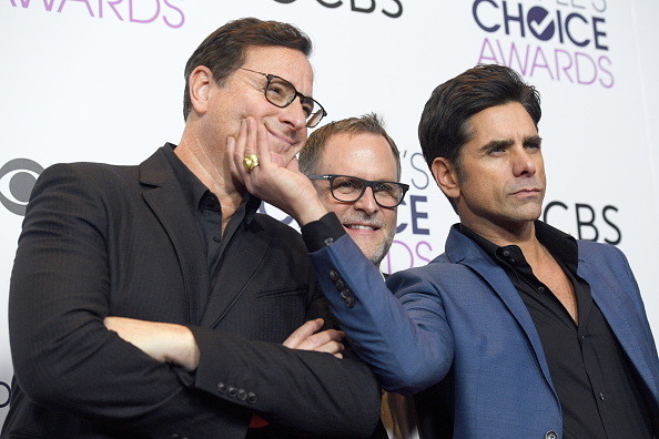 poses in the press room during the People's Choice Awards 2017 at Microsoft Theater on January 18, 2017 in Los Angeles, California.