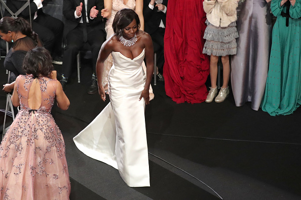 LOS ANGELES, CA – JANUARY 29: Actor Viola Davis during The 23rd Annual Screen Actors Guild Awards at The Shrine Auditorium on January 29, 2017 in Los Angeles, California. 26592_021  (Photo by Richard Heathcote/Getty Images for TNT)