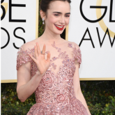 Golden Globe 2017: Lily Collins