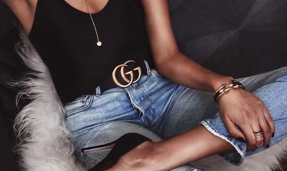 82b5f0dade908 O cinto sensação da Gucci e a cintura marcada em 2017! - Fashionismo