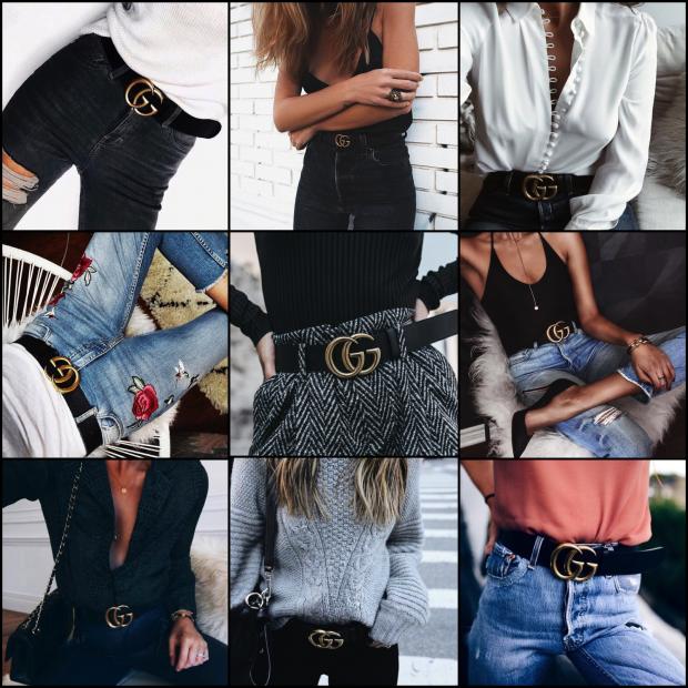 O cinto sensação da Gucci e a cintura marcada em 2017! - Fashionismo 3f8e761f2c
