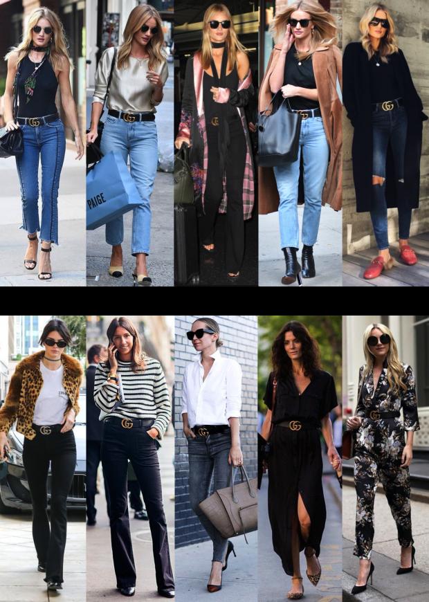 b296f3060 O cinto sensação da Gucci e a cintura marcada em 2017! - Fashionismo