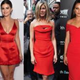 Você tem um vestido vermelho?