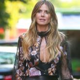 Os looks da temporada da Heidi Klum em Nova York
