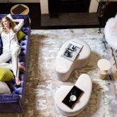 O apartamento cheio de charme da top model Anna V. em Nova York
