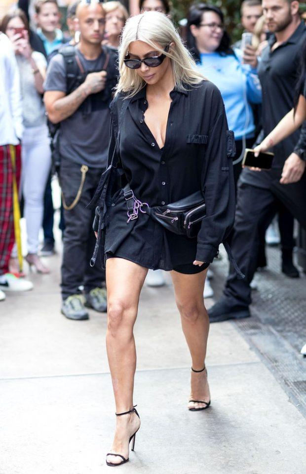 Os Looks Da Kim Kardashian Na Nyfw Fashionismo