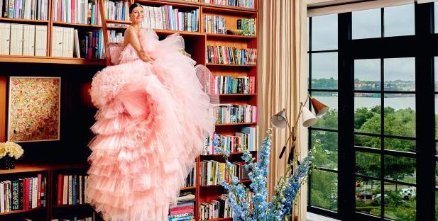 Giambatistta Valli e o vestido rosa mais fotografado da temporada!