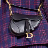 Saddle bag, o retorno da bolsa icônica da Dior!