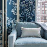 Apartamento 50 tons de azul em Nova York