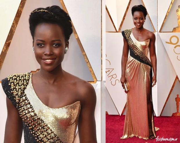 Oscar 2018 Lupita Nyongo