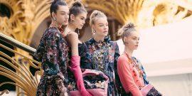 Chanel e o penteado sensação da semana de moda