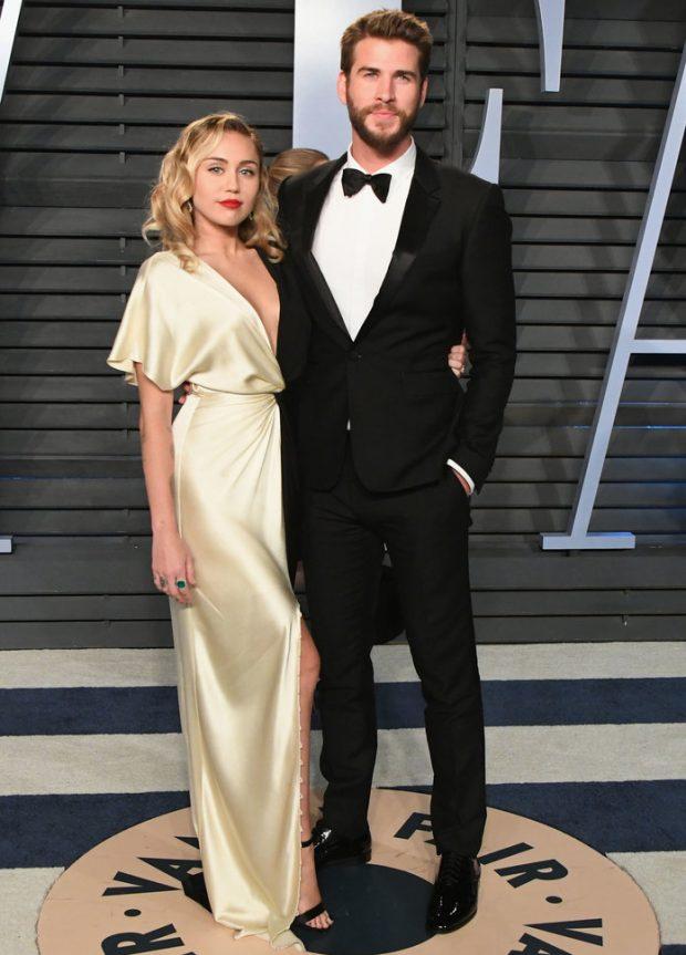 Liam e Miley Cyrus