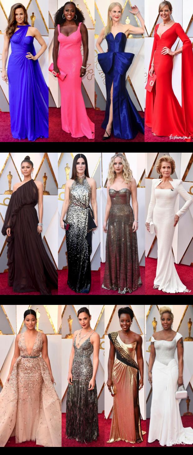 os looks do Oscar 2018