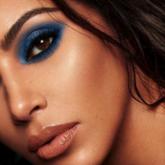 Tendência de beleza: Sombra azul à la Kim Kardashian
