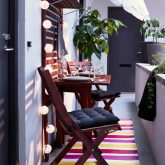 12 ideias pra incrementar sua varanda pequena