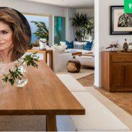 A mansão de 45 milhões de dólares da Cindy Crawford