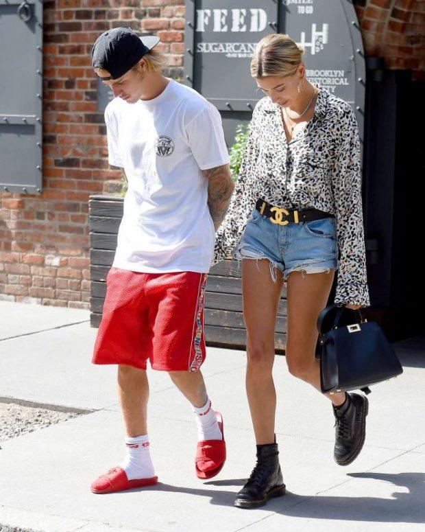 Justin Bieber Hailey Baldwin looks