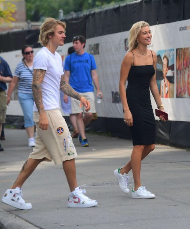 Justin Bieber Hailey Baldwin looks
