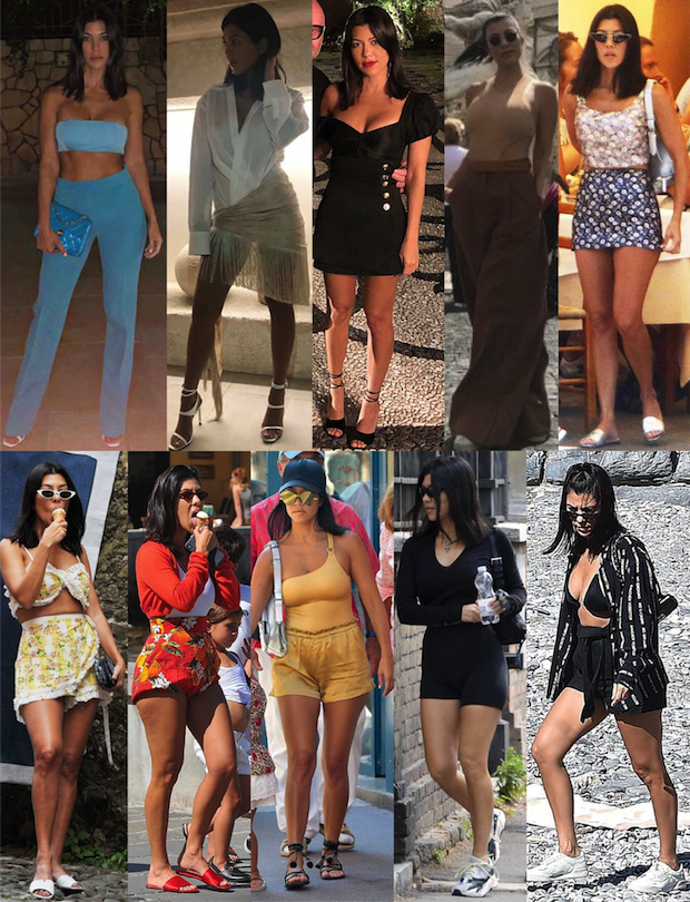 Kourtney Kardashian looks