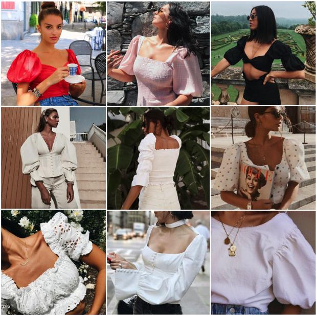Tendência verão 2019: Manga bufante - Fashionismo