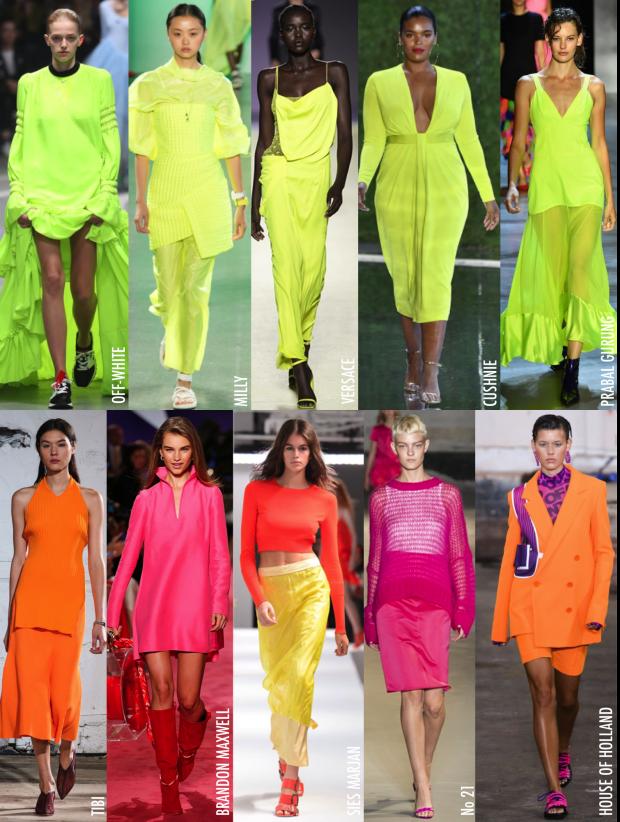 neon roupa look
