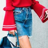 15 looks incríveis com saia jeans