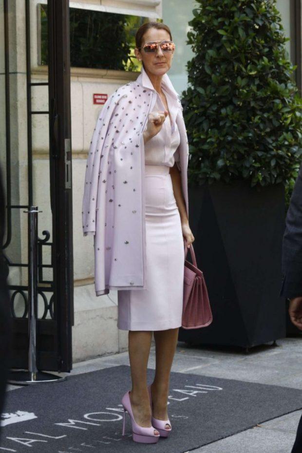 Looks Celine Dion