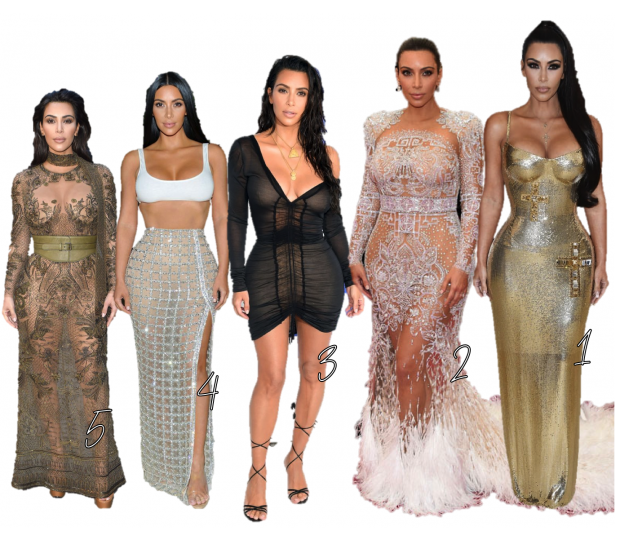RED CARPET KIM KARDASHIAN