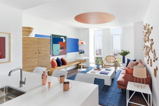 um apartamento extremamente charmoso no brooklyn fashionismo. Black Bedroom Furniture Sets. Home Design Ideas