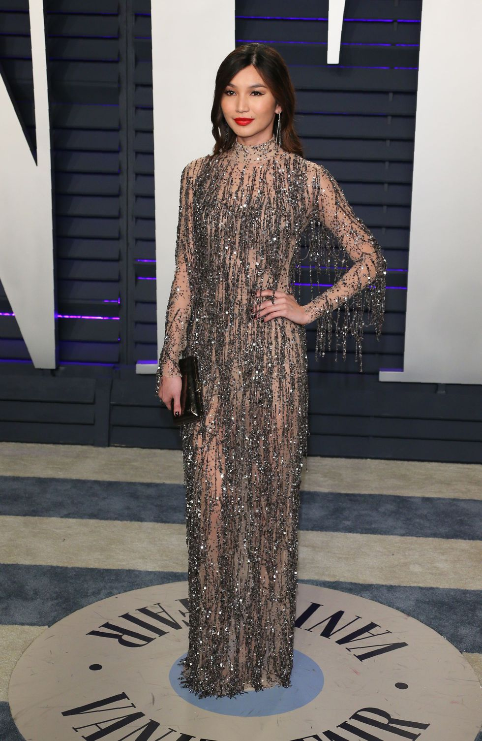 Actress Gemma Chan Attends The 2019 Vanity Fair Oscar Party News Photo 1127324479 1551101529 Fashionismo