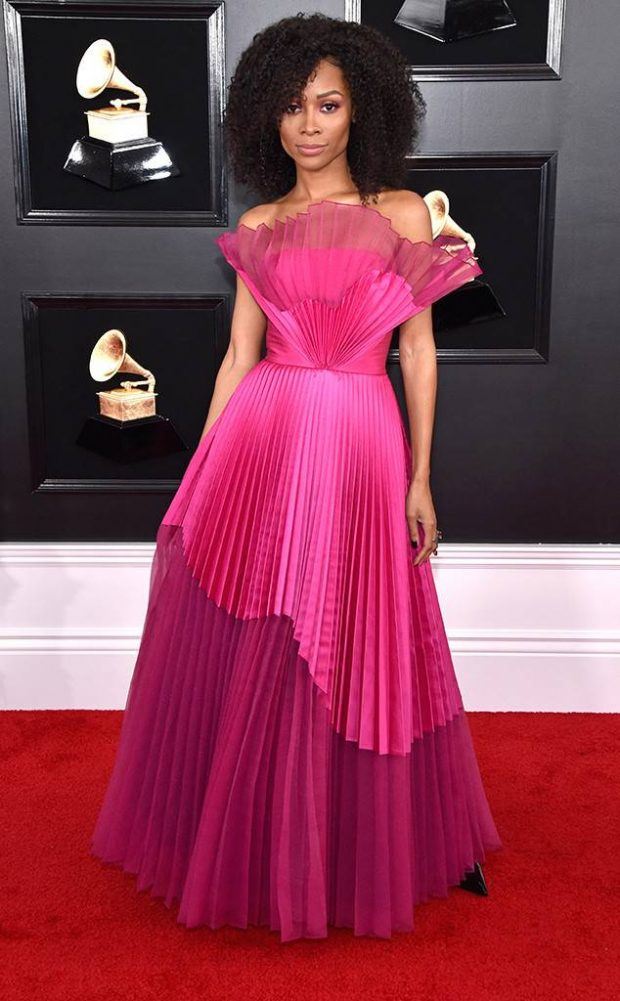 zuri hall grammy 2019