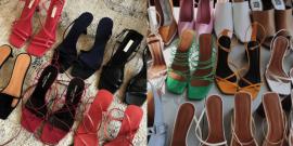 Tendência anos 00: sandália quadrada