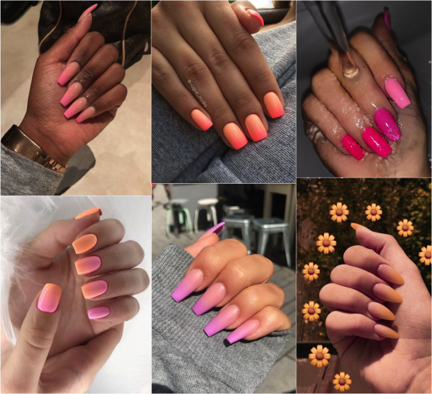 esmalte diferente nail art