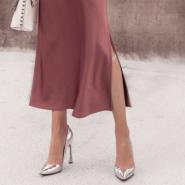 15 looks incríveis com saia de cetim