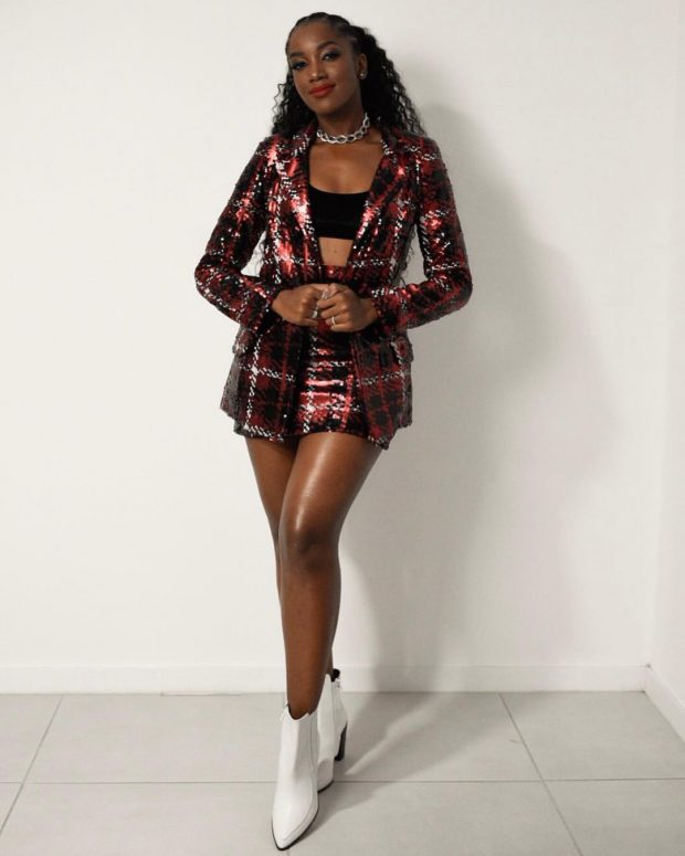 iza cantora look moda