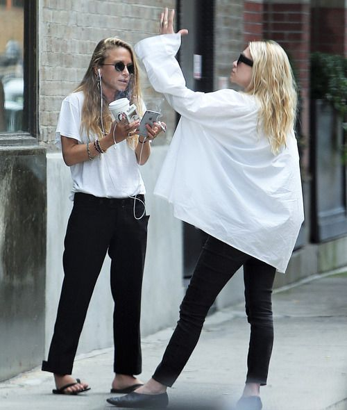 ASHLEY OLSEN ESTILO