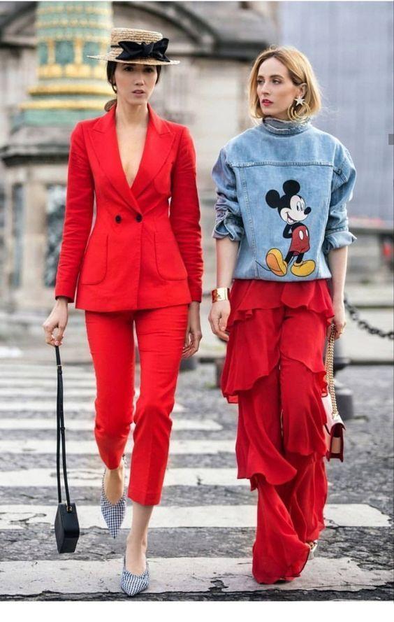 Mickey look blusa estilo