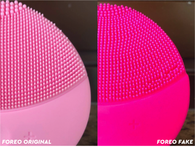 FOREO FAKE E ORIGINAL