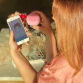FOREO LUNA fofo, a primeira escova de limpeza facial com inteligência artificial!