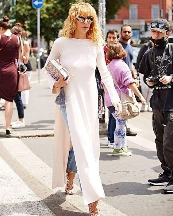 vestido calça