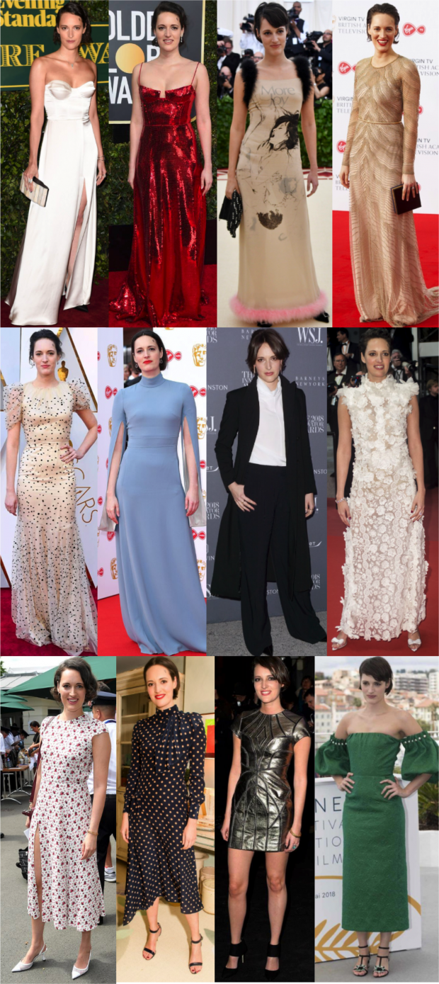 phoebe waller bridge red carpet tapete vermelho