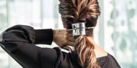O trequinho que coloca no cabelo