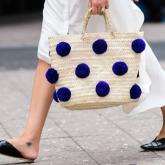 15 looks incríveis com bolsa de palha