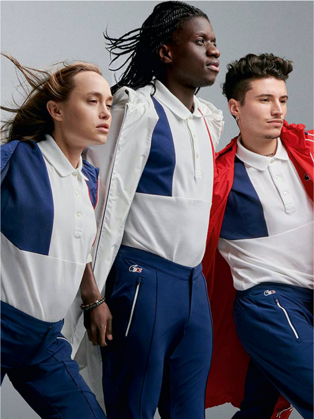 Os uniformes das Olimpíadas!