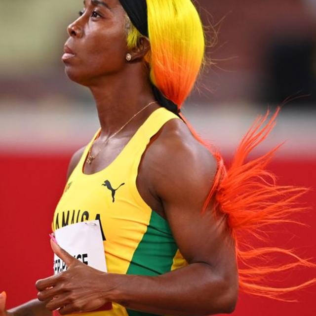 Cabelos coloridos nas Olimpíadas
