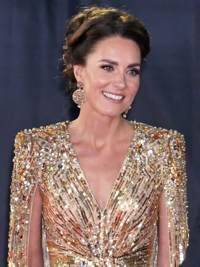 Tudo sobre o vestido de ouro de Kate Middleton